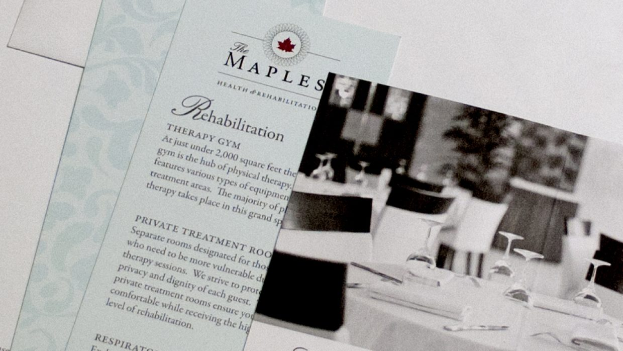 The Maples | Collateral Material